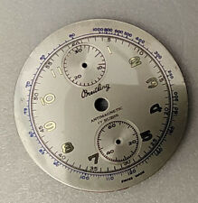 VENUS 170 SILVERED AND GOLD MIRROR NUMBERS watch dial Chronograph new!!