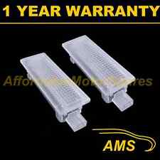 2X FOR BMW X5 X6 E70 E71 18 WHITE LED FOOTWELL BOOT DOOR COURTESY GLOVE BOX LAMP