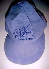 BB King Blues Club Memphis Adams Blue Baseball Cap Adjustable Strap One Size