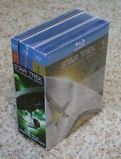 NEW Star Trek Complete Original Series(Blu-ray Set)Seasons 1-3 Sealed+Slipcovers