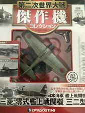 Mitsubishi A6M3  Zero   Diecast Collection Aircraft 1/72