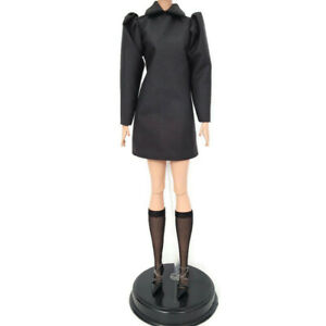 Barbie Silkstone Best In Black Doll Outfit Dress Stocking Shoes Fashion Only NEW