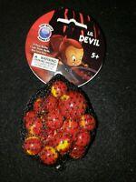 Mega marbles Net 24 plus 1 Collectors Series Lil Devil swirl
