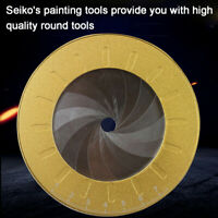 Round Circle Tool Adjustable Measurement Stainless Steel Creative Drawing  Ruler
