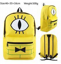 Gravity Falls Backpack Bill Cipher School Bag Shoulder Bag Student Bag Cosplay