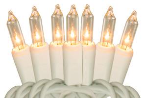 Christmas Lights String Lighting Mini Incandescent Cord Holiday Wedding Seasonal