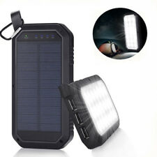 Portable External Power Bank Battery Powered Solar USB LED Light Android Iphone