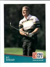 1991 PRO SET PGA TOUR GOLF #248 J.C. SNEAD CARD #145616-2