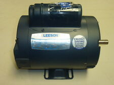 NEW LEESON CAPACITOR-START MOTOR 3/4HP, 1425 RPM, 110/220V, Frame: 56, 110396.00