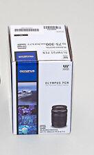 New Olympus Pen M.Zuiko Digital ED 75-300mm II Black Lens FREE Shipping