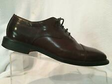 Johnston Murphy Domani Brown Cap Toe Oxford Dress Shoes Mens 9 M Casual Italy