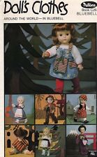 VINTAGE PATONS KNITTING BOOK : DOLL'S CLOTHES AROUND THE WORLD : 11 Nations