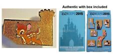 Disney LE 300 Pin D23 Expo Bambi Chaser Mystery Castle Puzzle AUTHENTIC w Box