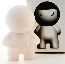 "Adfunture 3"" Vinyl DIY I, WZL White Kidrobot Art Toy Figure"