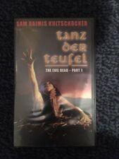 Tanz-der-Teufel auf VHS-Kassetten
