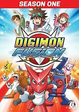Digimon Fusion (2015, DVD NEW)6 DISC SET