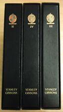 Stanley gibbons GB Great Britain Davo luxury album volume II III IV 2-4 1971-07