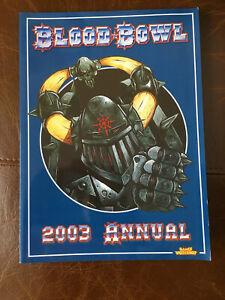 BLOOD BOWL 2003 ANNUAL Games Workshop Supplement Book V Good Games Workshop