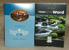 Best of Today In the Word Vol 1 & 2 daily readings from Moody Bible Institute