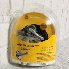 Nib Universal Motorola Hs801 Bluetooth Wireless Headset - Gray