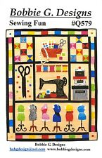SEWING FUN QUILT QUILTING PATTERN, From Bobbie G. Designs NEW