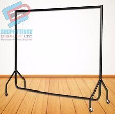 Garment rail 150cm (5ft) long Clothes Rack Heavy Duty Storage Hanging Rail