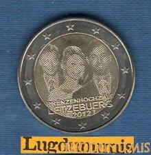 2 euro Commémo 2012 Luxembourg Mariage du Grand Duc SUP SPL - Luxembourg