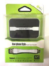 AIO USB Memory Card Reader Micro SD M2 SD MMC SDHC SDXC MS Duo CF123 MS Pro Duo
