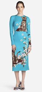 Dolce & Gabbana Cats Print Dress