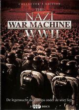 Nazi War Machines Of WWII NEW PAL Documentary Series 3-DVD Set
