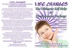 """Life Changes"" Ultimate Hypnotherapy & NLP Self-Help Self-Hypnosis Audio Package"