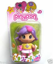 PINYPON SINGLE PACK PURPLE HAIRED GIRL DOLL AS IMAGE - NEW & SEALED!