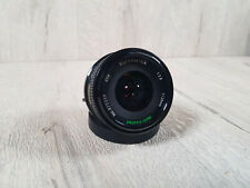 Canon FD fit Marexar 28mm 1:2.8 lens, Macro fits T50 camera mount