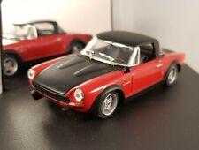Vitesse 1:43 - Fiat 124 Abarth 1972 - red black - VCC082