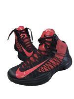Nike Men's 8.5 Hyperdunk Basketball Red Black High-top Sneakers 524934-006