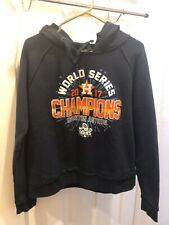 Houston Astros Men M 2017 World Series Champions Pullover Hoodie