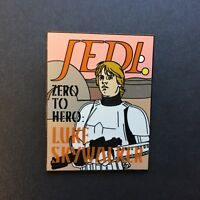 Reveal / Conceal Collection Star Wars Magazines Luke Skywalker Disney Pin 85363