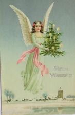 """ Noël, Sapin de Noël, Ange "" 1907 (12205)"