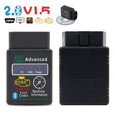 Tool Bluetooth V2.1 ELM327 OBD-II Car Diagnostic Scanner HH OBD 2 Advanced