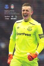Programme : Everton v Liverpool - FA Premiership - 07 April 2018 - MINT