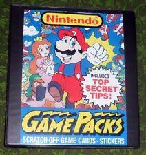 Nintendo Trading Card Set - Super.Mario.Bros.Legend.Zelda.Link.Princess.Peach