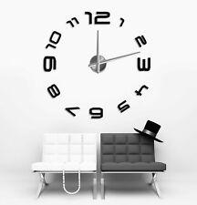 Design 3 Wanduhr 100 cm 3 D XXL Uhr Moderne Selbst gestaltbare Do-it-yourself