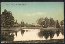 C1920's View of Volkspark, Enschede, Holland