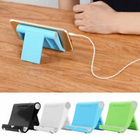 Universal Phone Aluminum Table Desk Stand Holder For Mobile Tablet PC TOP P W3U5