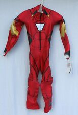 *NEW* Spyder Padded GS Ski Race Suit *Iron Man*Men's Small Adult Ironman FIS