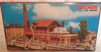 VOLLMER 5718 HO GAUGE - LARGE AKTIEN BREWERY FACTORY BUILDINGS 415 x 140 x 300