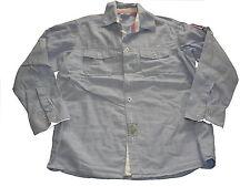 VERTBAUDET superbe chemise taille 134/140 bleu-blanc rayé!!!