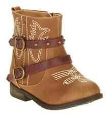 Garanimals Toddler Girls Western Brown Boots  Size 5