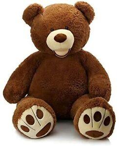 LAPECHE 39 Inch Teddy Bear (Dark Brown)