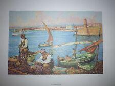 Illustration Scènes de la mer - Portfolio MArseille et son littoral